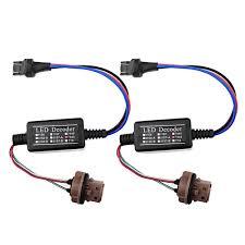 lexus gx470 turn signal socket amazon com 1 pair 7443 t20 led decoder adaptor anti hyper blinker