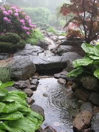 Best  Back Garden Waterfalls Ideas On Pinterest Garden - Backyard waterfall design