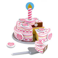 jeux de fille de 6 ans cuisine gâteau d anniversaire à trancher jouet en bois fille idée