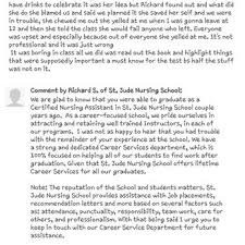 rn letter of recommendation st jude nursing 93 photos u0026 22 reviews nursing schools