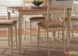 Informal Dining Room Cottage Cove Ivory Finish Casual Dining Room Set Hillside Cottage