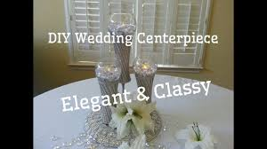 Dollar Tree Vases Centerpieces Diy Dollar Tree Wedding Centerpiece Classy And Elegant Youtube