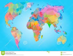 Usa Map Vector by Geometric Usa Map Vector Stock Vector Image 79336682