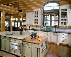 Cabin Kitchen Ideas Sophisticated Kitchen Room Design Log Cabin Home Houseoneup
