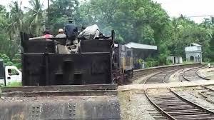 sri lanka railway crane special approaching kalawewa station youtube
