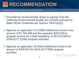 Council On Environmental Quality Guidelines Housing Career Services Department City Council Py Annual