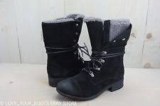 s ugg black leather ugg gradin black leather and suede heritage style biker womens