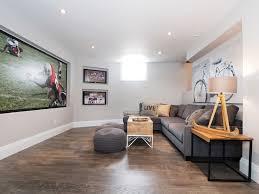 Laminate Flooring In Basement Grey Laminate Flooring Basement Transitional With Bicycle Art Gray