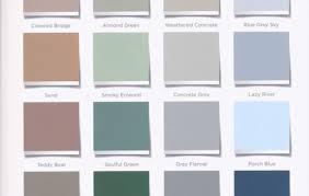 valspar porch and floor paint color chart home painting