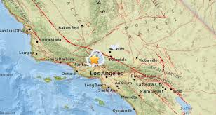 Coc Valencia Map 3 5 Earthquake Shakes Castaic Sunday Afternoon