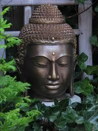 garden with metal buddha statue buddha garden statues in