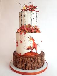 596 best autumn cakes images on pinterest autumn cake amazing