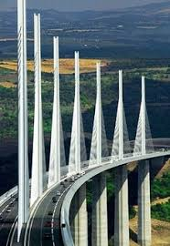 Light At The End Of The Tunnel Marathon The Millau Bridge Is In Southern France And Crosses The River Tarn