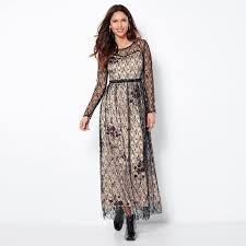 robe de chambre maternité robe longue manches longues en dentelle femme exclusivité 3suisses