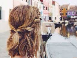 easy hairstyles for school trip cute and easy hairstyles for school for short hair short