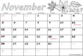 2017 us calendar printable november 2017 calendar with holidays 2018 calendar printable