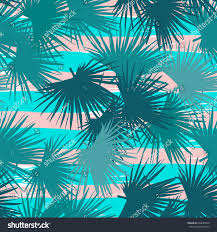 vector leaves palm repeating floral pattern stock vector 636630940