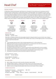 Chef Resume Samples Chef Resume Example Chef Resume Sample U0026 Writing Guide Resume