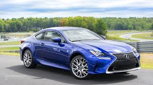 sporty lexus blue 2015 lexus rc rc f review autoevolution