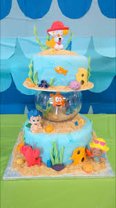 Halloween First Birthday Cakes by Top 25 Best Bubble Guppies Birthday Cake Ideas On Pinterest