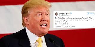 Trump S Favorite President President Trump Falsely Calls Russian Facebook Ads A U0027hoax U0027