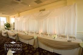 Wedding Head Table Decorations by Sweetheart And Head Table Ideas