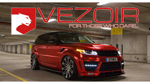 burnt orange range rover range rover sport supercharged vezoir vzr 600 wrap design