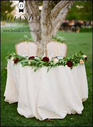 Sweet Heart Table Sweetheart Table Garland Botanica Specialty Rentals