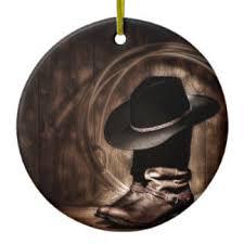 vintage western cowboy boot ornaments keepsake ornaments zazzle