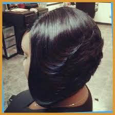 featheres sides bob hairstyle 3 thick feathered bob hairstyle for black women picture black