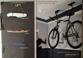best ceiling bike lift bike hoist youtube