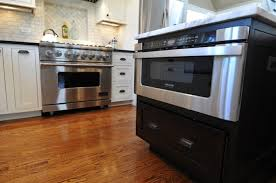 Microwave Oven Cart Kitchen Island With Microwave Kenangorgun Com