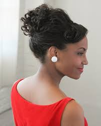 easy vintage hairstyles for natural curly hair look 1960s mad men