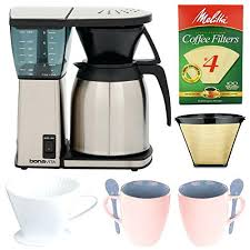 Bonavita 8 Cup Coffee Maker With Thermal Carafe Cleaning Machine