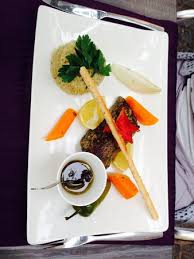 la cuisine de domi steack de thon marine aux herbes picture of la table de domi