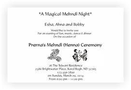 mehndi card wording mehndi invitation chococraft