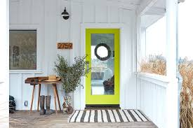 why i chose a bold door paint color in my own style