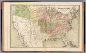 Confederate States Map by United States David Rumsey Historical Map Collection