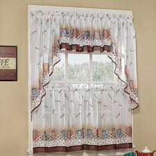 Curtains Kitchen Window by 18 Best Kitchen Curtain Images On Pinterest Kitchen Curtains
