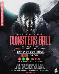 get your scary costumes ready as bld by play presents the monsters