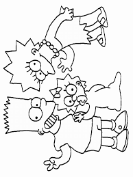 simpsons coloring pages u2013 pilular u2013 coloring pages center