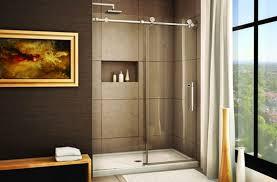 Bathroom Shower Doors Home Depot Frameless Sliding Glass Shower Doors Home Depot Door