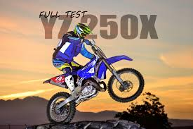 rent a motocross bike dirt bike magazine yamaha yz250x off road 2 stroke full test