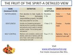 the fruit of spirit defined is strawberry a fruit