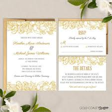 wedding invitations gold coast 9 best wedding invitation ideas images on invitation