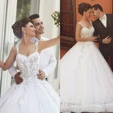 corset wedding dresses discount said mhamad 2016 bodice corset wedding dresses spaghetti