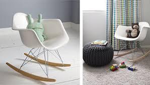 chaise a bascule eames chaise à bascule eames barunsonenter com