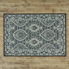 regalia tufted navy floral area rug