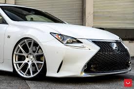 lexus rc 350 lexus rc350 vfs 6 silver vossen wheels 2016 1021