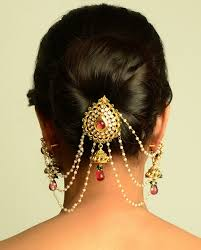 54 best hair accessory for indian wedding images on